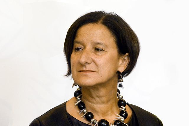 Na snímke rakúska ministerka vnútra Rakúska Johanna Mikl-Leitnerová.