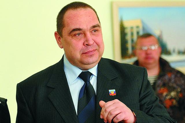 Hlava Luhanskej ľudovej republiky Igor Plotnickij