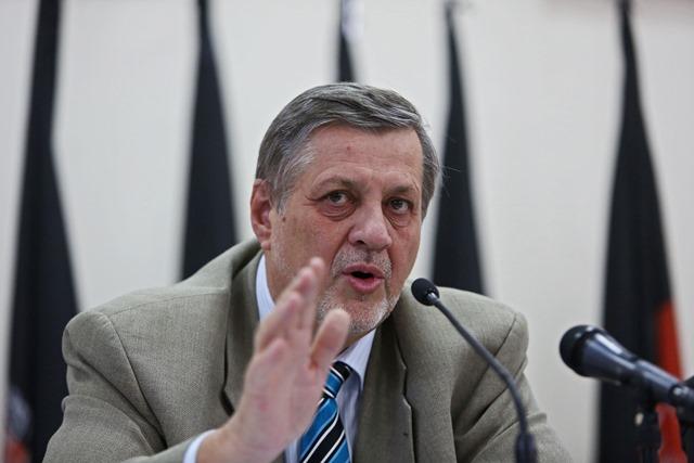 Na snímke zástupca hovorcu šéfa afganskej vlády Abdulláh Abdulláh