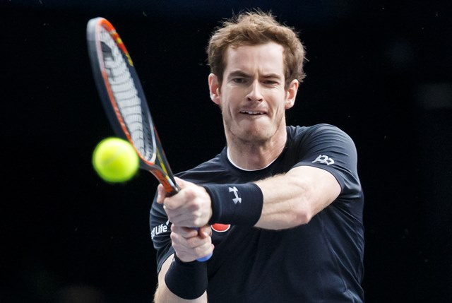 Na snímke britský tenista Andy Murray