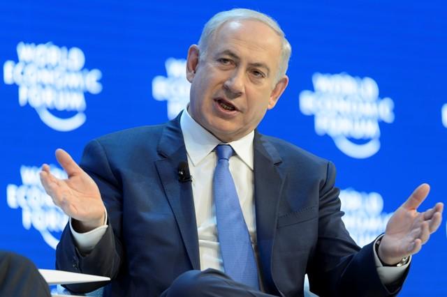 Na snímke uzraelský premiér Benjamin Netanjahu