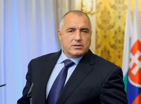 Na snímke predseda vlády Bulharskej republiky Bojko Borisov