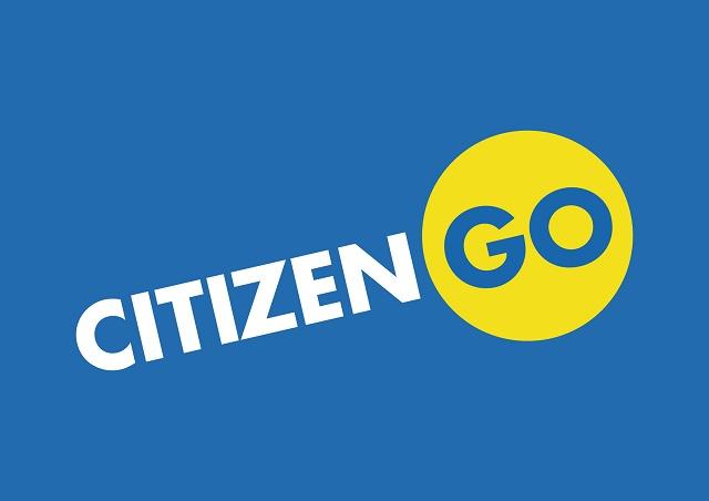 Logo organizácie CitizenGo