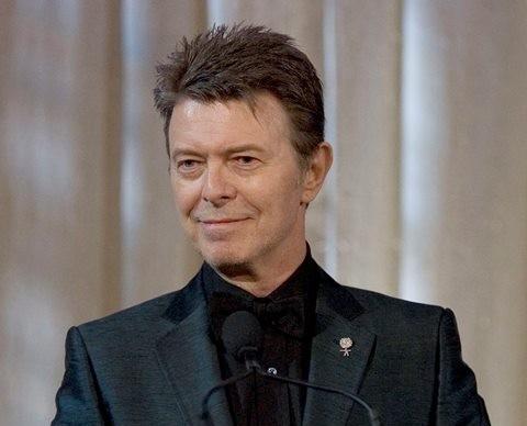 Na snímke britský hudobník David Bowie