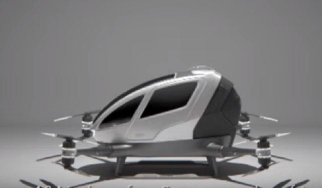 Na snímke prvý bezpilotný dopravný prostriedok