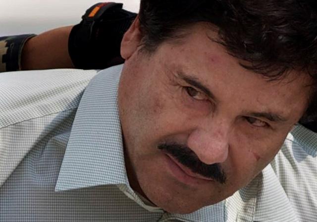 "Na snímke Joaguín ""El Chapo"" Guzmán"