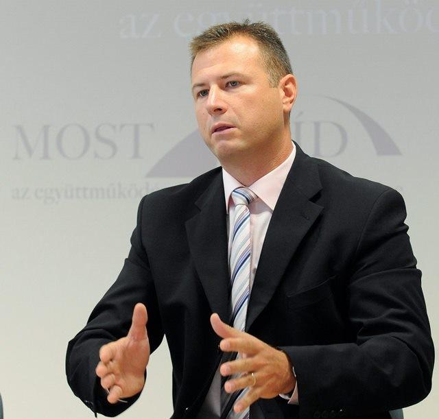 Na snímke poslanec Národnej rady SR za Most-Híd Gábor Gál