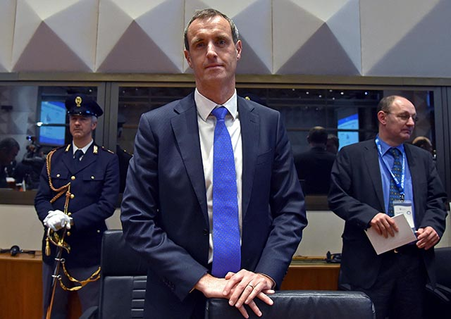 Riaditeľ Europolu Rob Wainwright.