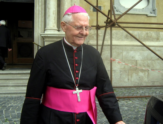 Na snímke arcibiskup Ján Sokol