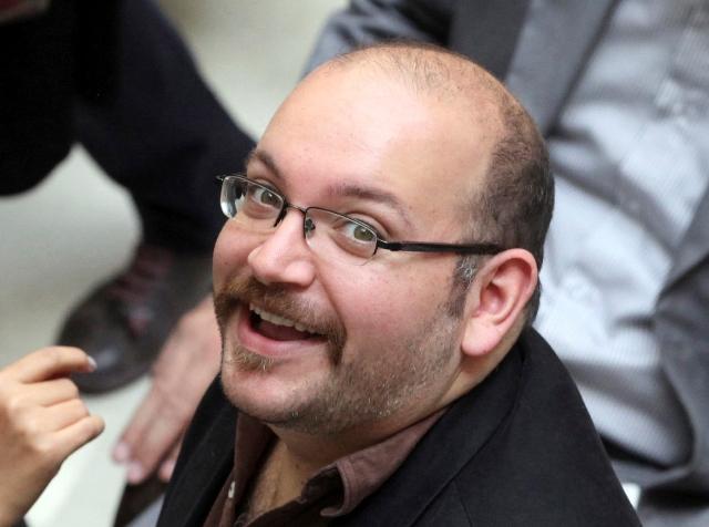 Na snímke z roku 2013 je teheránsky spravodajca denníka Washington Post Jason Rezaian