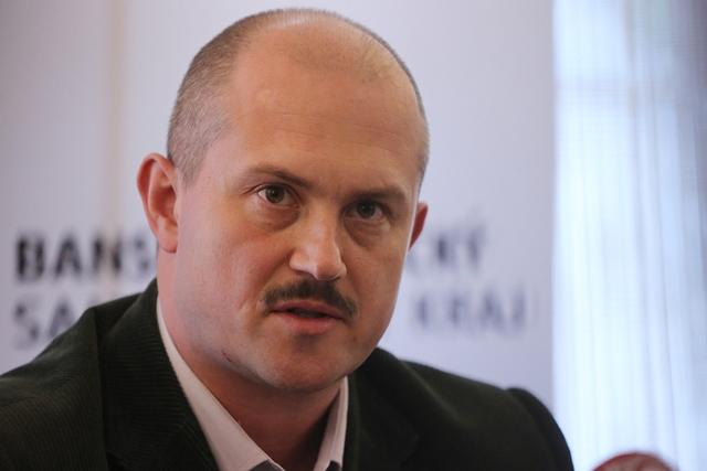 Na snímke predseda Banskobystrického samosprávneho kraja Marian Kotleba