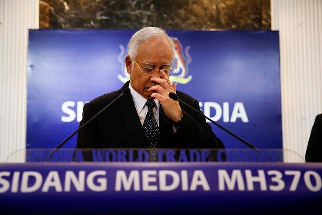 Na snímke malajzijský premiér Najib Abdul Razak