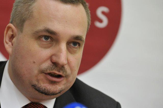 Na snímke podpredseda OKS Ondrej Dostál