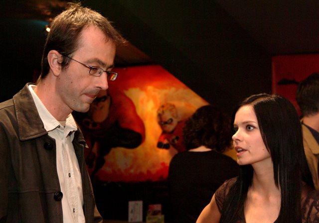 Na snímke z roku 2005 Peter Zelenka a herečka Zuzana Šulajová