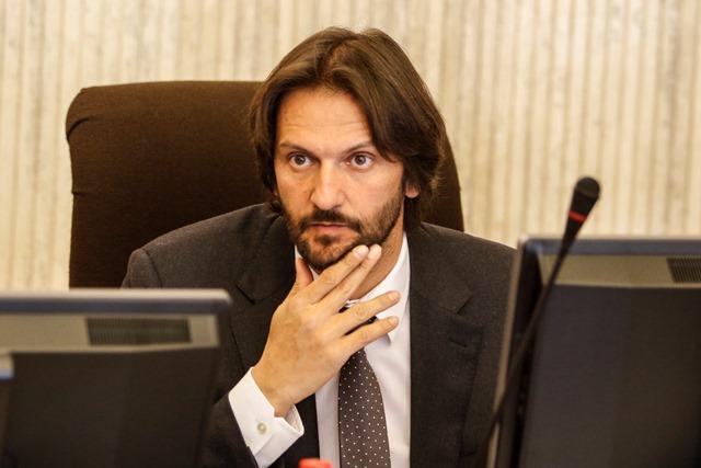 Na snímke minister vnútra SR a podpredseda vlády SR Robert Kaliňák