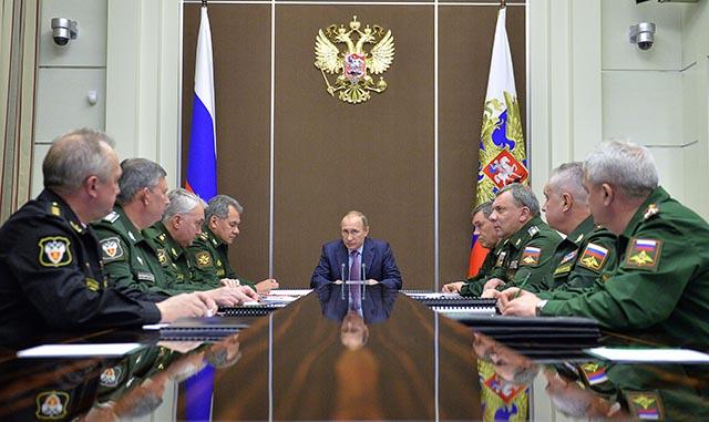 Na snímke ruský prezident Vladimir Putin. Ilustračné foto