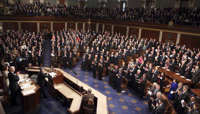 Na snímke Snemovňa reprezentantov amerického Kongresu