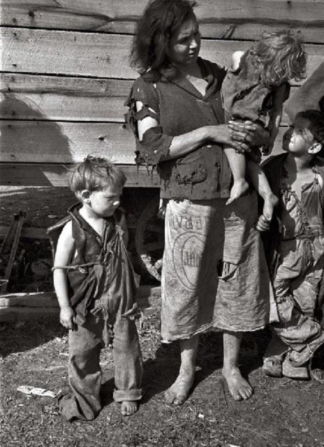 Spojené štáty americké v roku 1932. Veľká hospodárska kríza