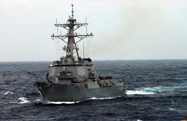 Jedna z vojnových lodí námorníctva USA, loď USS Lassen triedy Arleigh Burke