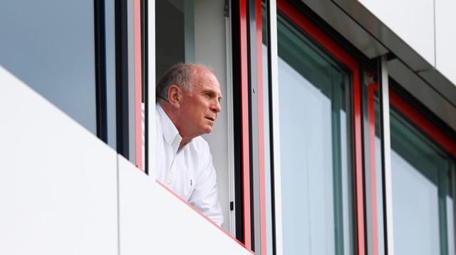 Na snímke bývalý prezident Bayernu Mníchov Uli Höness