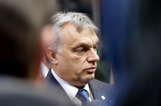 Na snímke maďarský predseda vlády Viktor Orbán