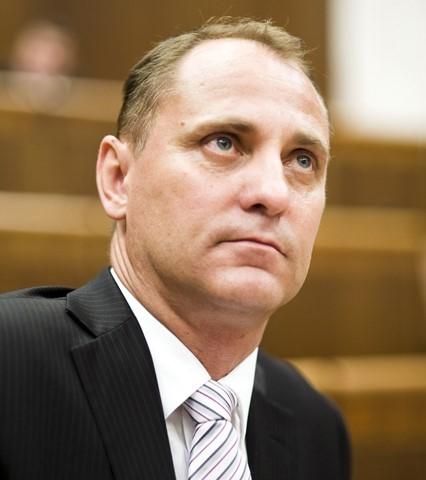 Na snímke podpredseda Slovenskej národnej strany (SNS) Vladimír Chovan
