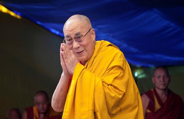 Tibetský duchovný vodca dalajláma