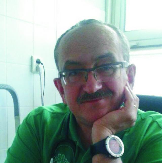 Na snímke MUDr. Andrej Janco