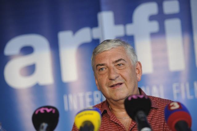 Na snímke český herec Miroslav Donutil