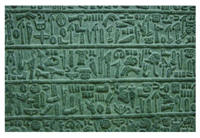 Hieroglifické písmo Chetitov