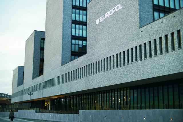 Budova európskeho policajného úradu Europol v Haagu