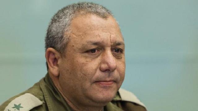 Na snímke Gadi Eizenkot, veliteľ izraelských ozbrojených síl IDF