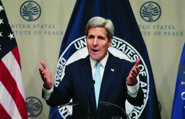 Na snímke John Kerry