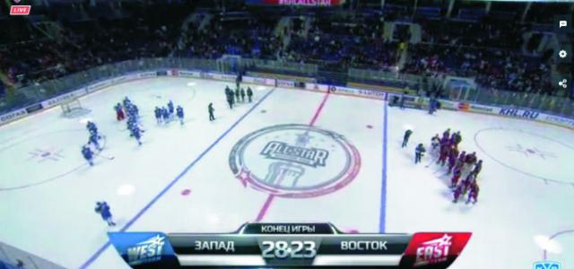 Východniari začali perfektne a už po 2 minútach viedli 3:0. Góly strieľali známi útočníci Sergej Mozjakin a Denis Zaripov