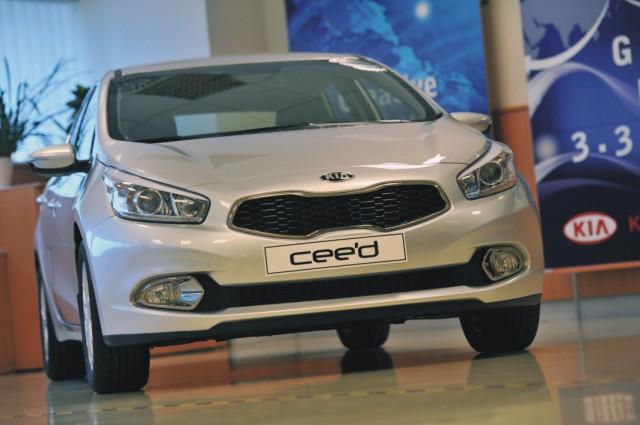 Na snímke model auta druhej generácie Kia cee'd