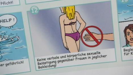 Obrázok z letáku, ktorý distribuujú v Mníchove