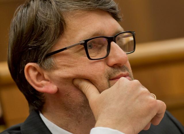 Na snímke minister kultúry SR Marek Maďarič