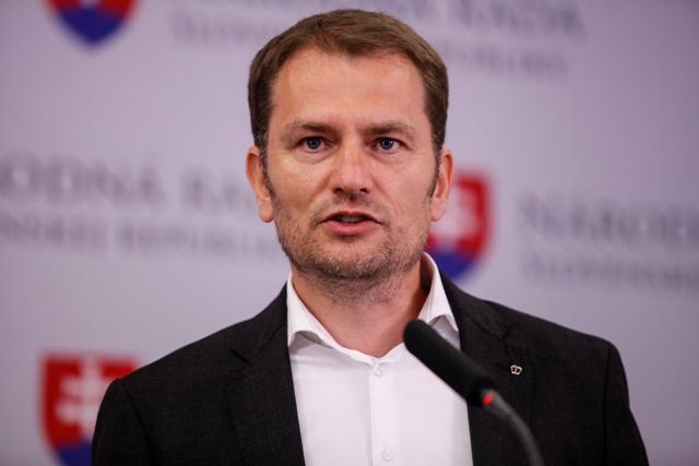 Na snímke šéf hnutia OĽaNO-NOVA Igor Matovič