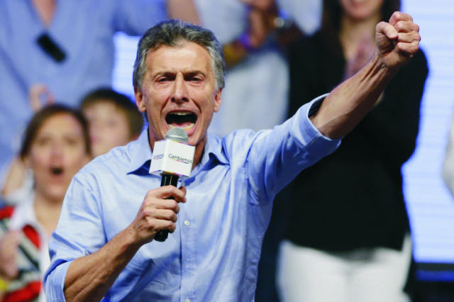 Nový argentínsky prezident Mauricio Macri