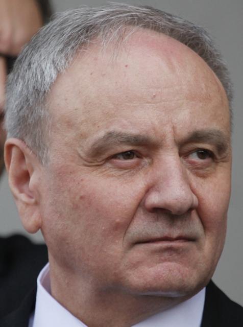 Na snímke moldavský prezident  Nicolae Timofti