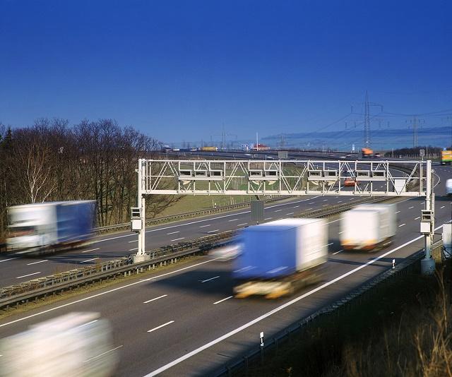 Ilustračné foto diaľničnej mýtnej brány