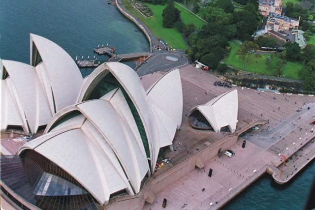 Na archívnej snímke Opera v Sydney