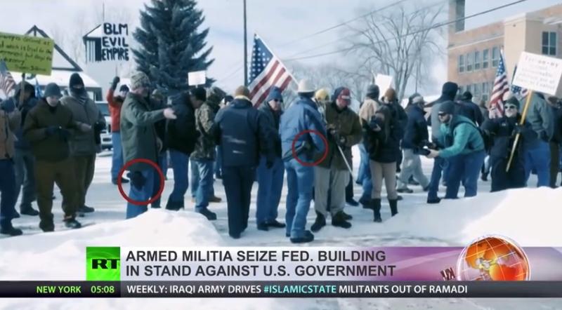 Občania - patrioti obsadili federálnu vládnu budovu. Sú ozbrojení a odhodlaní vydržať v svojom proteste aj veľmi dlho