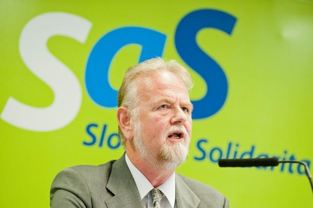 Na snímke poslanec NR SR za SaS a tímlíder strany pre zdravotníctvo Peter Osuský