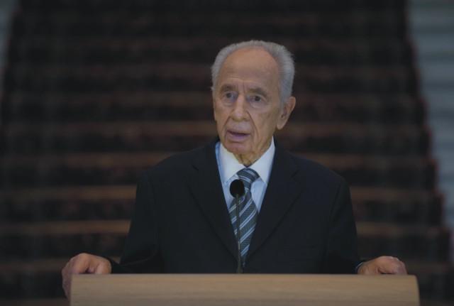 Bývalý izraelský prezident Šimon Peres