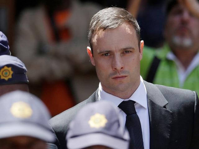Na snímke juhoafrický hendikepovaný atlét Oscar Pistorius
