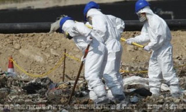 Vyšetrovatelia prehľadávajú smetisko