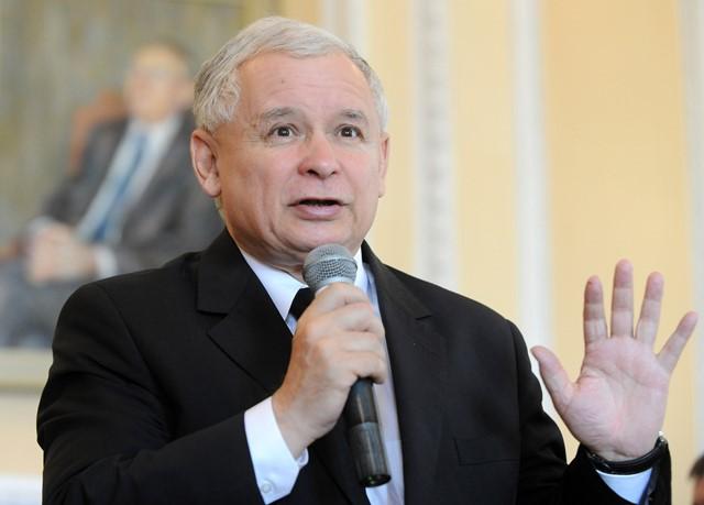 Na snímke líder poľskej opozičnej strany Právo a spravodlivosť (PiS) Jaroslaw Kaczynski