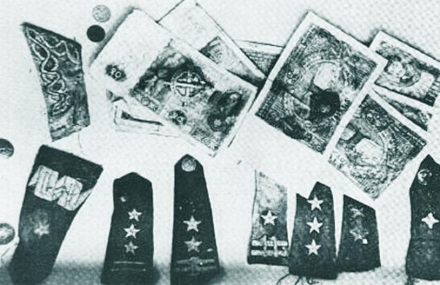 Predmety nájdené v Katynskom masovom hrobe