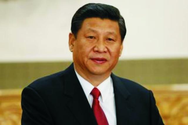 Na snímke čínsky prezident Číny Si Ťin-pching